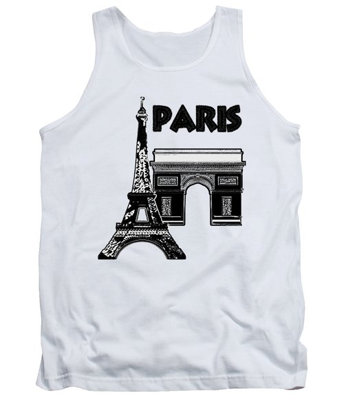 Paris Graphique Tank Top