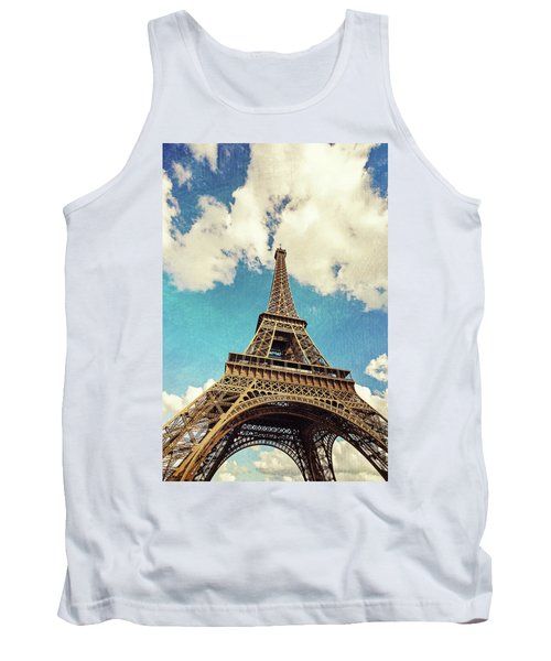 Paris Photography - Eiffel Tower Tank Top