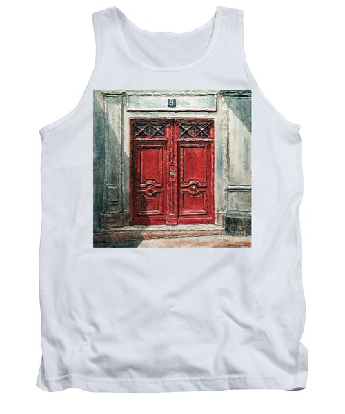 Parisian Door No.9 Tank Top