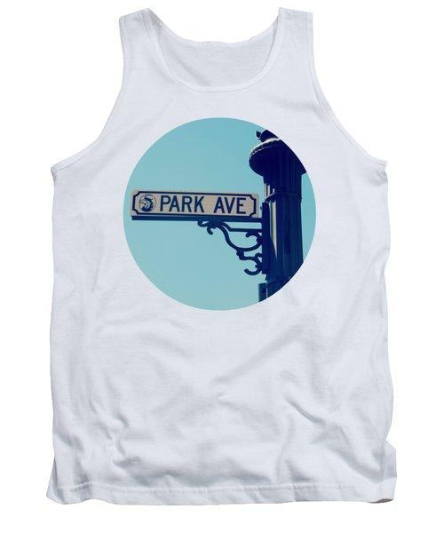 Park Ave T Shirt Tank Top by Valerie Reeves