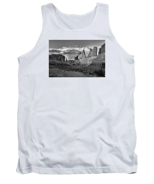 Tank Top featuring the photograph Park Avenue by Lou Novick