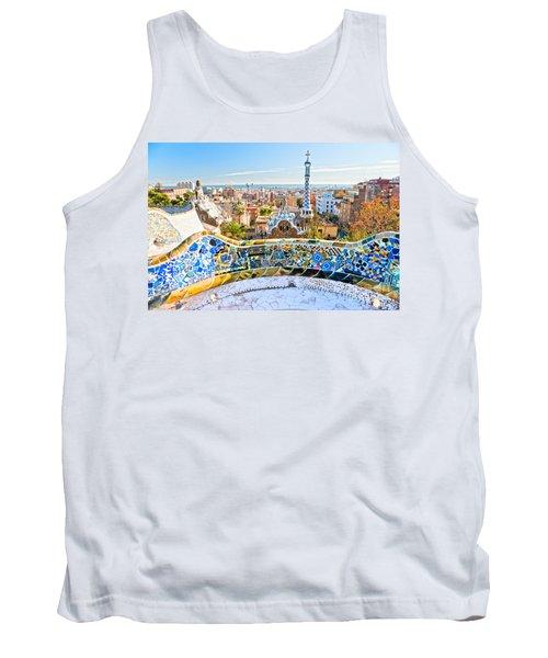 Park Guell Barcelona Tank Top