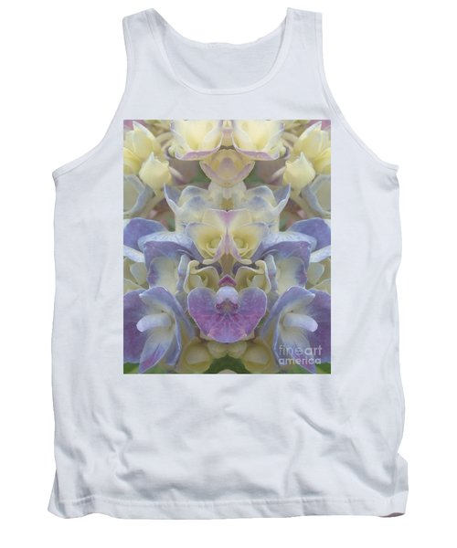 Tank Top featuring the photograph Pastel Blooms by Christina Verdgeline