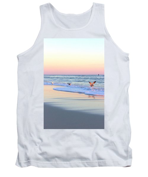Pastels On Water Tank Top