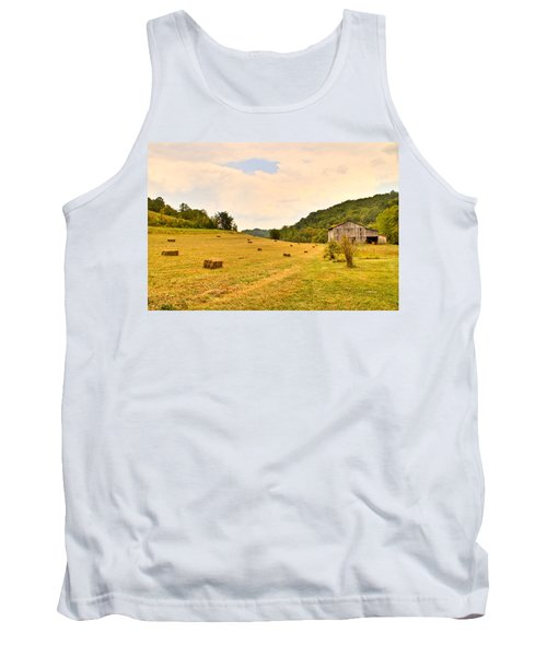 Pastorial Framland In Kentucky Tank Top