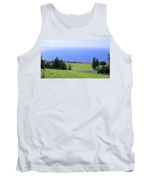 Pasture By The Ocean Tank Top