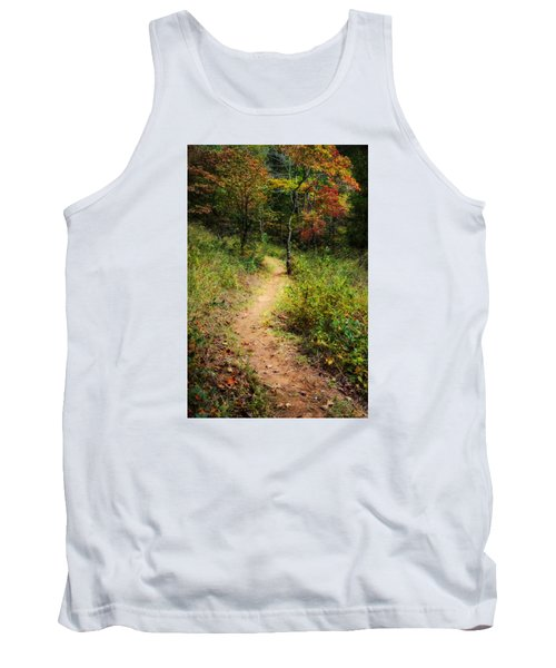 Path In The Prairie Tank Top