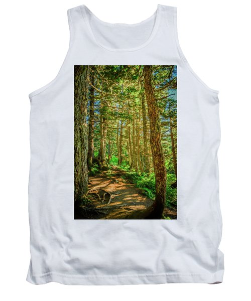 Path In The Trees Tank Top