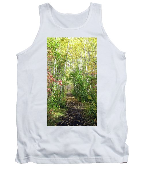 Path In The Woods 3 Tank Top