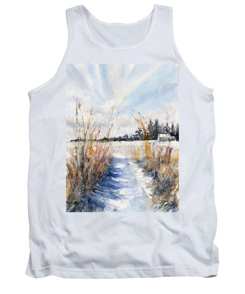 Path Shadows In The Way Back Tank Top