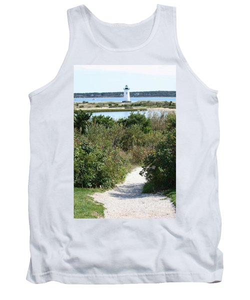 Path To Edgartown Lighthouse Tank Top