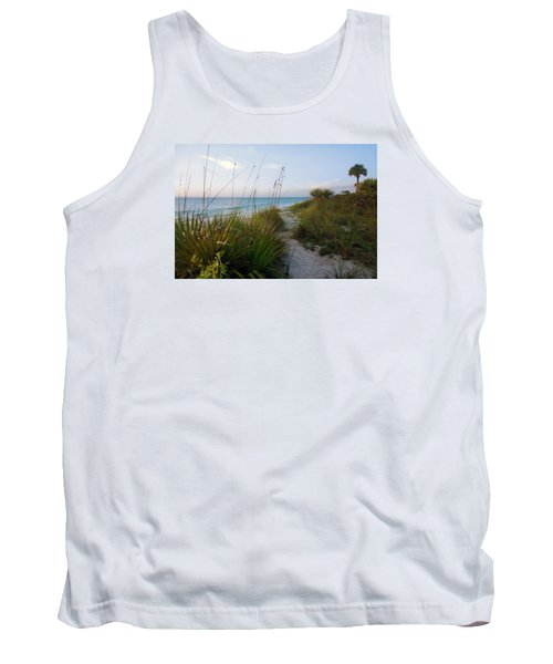 Pathway To Barefoot Beach  In Naples Tank Top