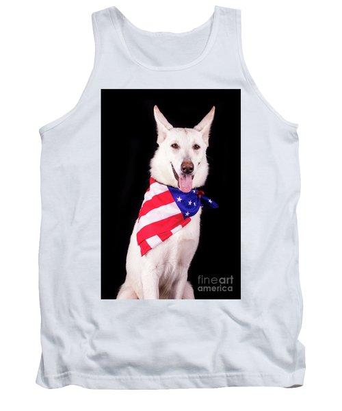 Patriotic Dog Tank Top