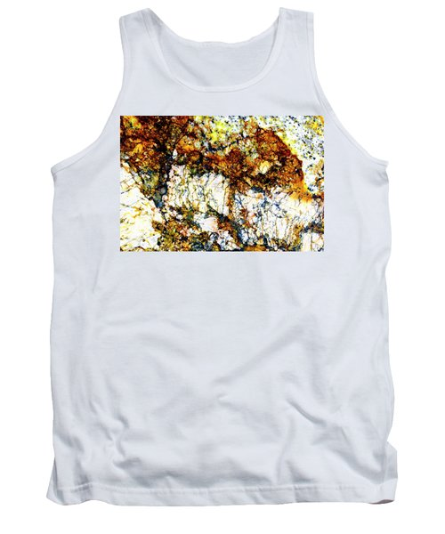 Tank Top featuring the photograph Patterns In Stone - 210 by Paul W Faust - Impressions of Light