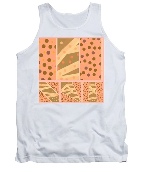 Patterns Of Finding Solace 100 Tank Top