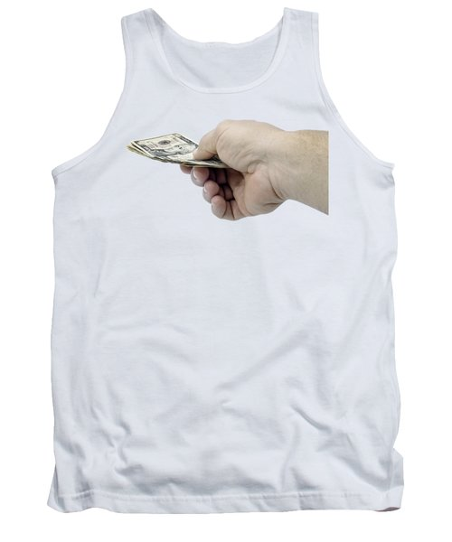 Pay Money Tank Top by Erich Grant