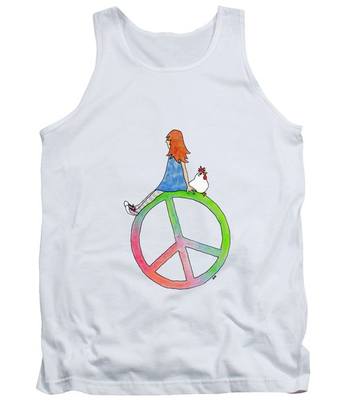 Peace And Hope Tank Top
