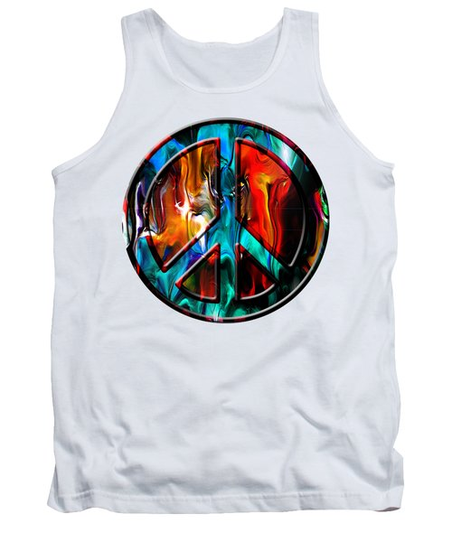 Peace And Love The Only True Tank Top