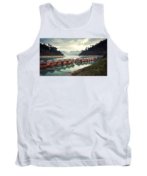 Peace On The Lake Tank Top
