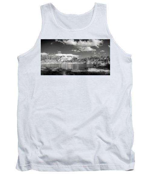 Tank Top featuring the photograph Peaceful Lake by Jon Glaser