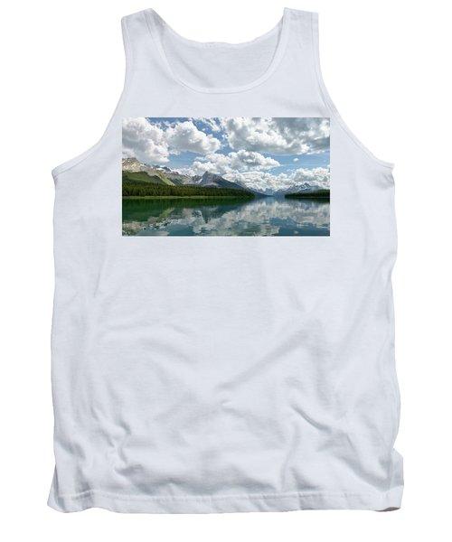 Peaceful Maligne Lake Tank Top