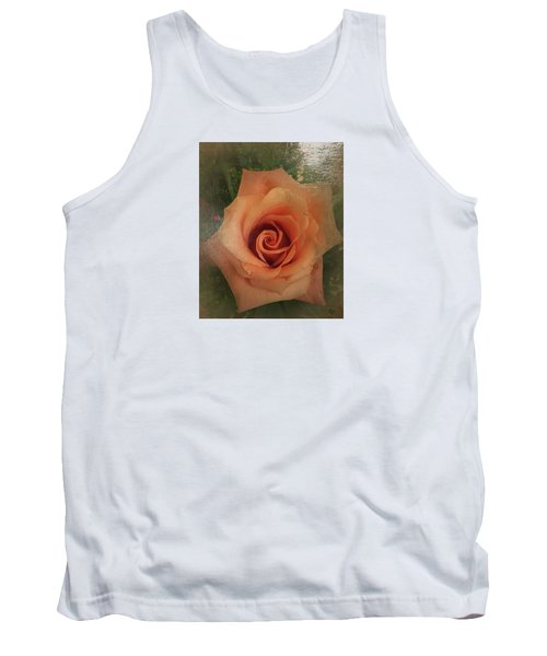 Peach Rose Tank Top