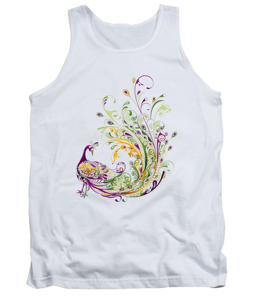 Peacock Tank Top by BONB Creative