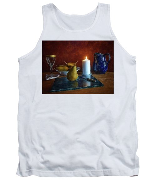 Pears By Candlelight Tank Top