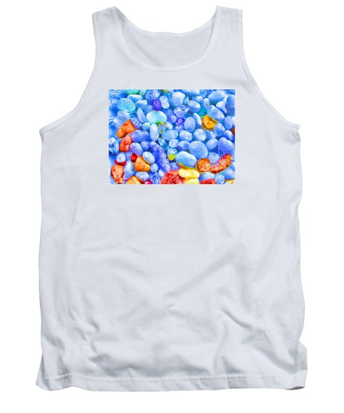 Pebble Delight Tank Top by Andreas Thust