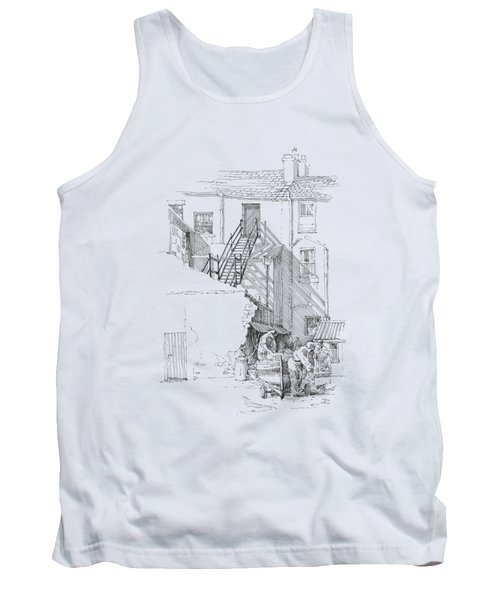 Peel Back Street Tank Top