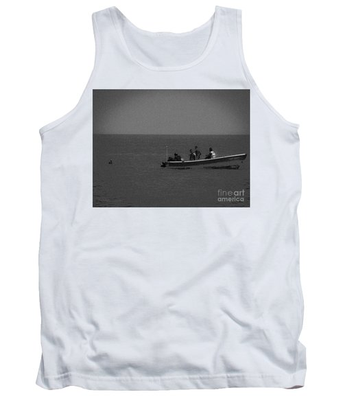 Pelican And The Fishing Boat Tank Top