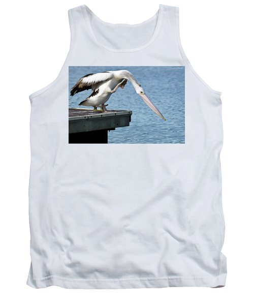 Pelican Beauty 66633 Tank Top by Kevin Chippindall