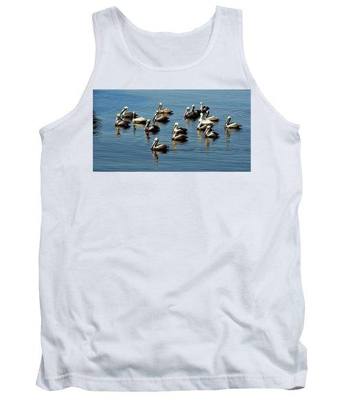 Pelicans Blue Tank Top