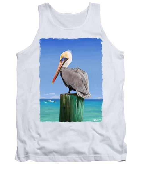 Pelicans Post Tank Top