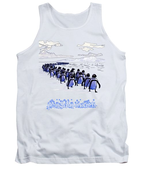 Penguin March Tank Top by Methune Hively