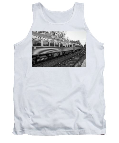 Tank Top featuring the photograph Pennsylvania Reading Seashore Lines Train by Terry DeLuco