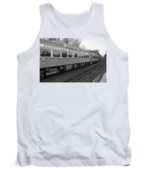Pennsylvania Reading Seashore Lines Train Tank Top
