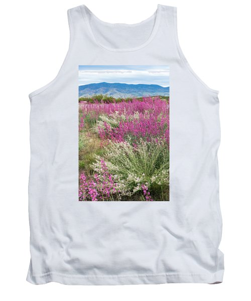 Penstemon At Black Hills Tank Top