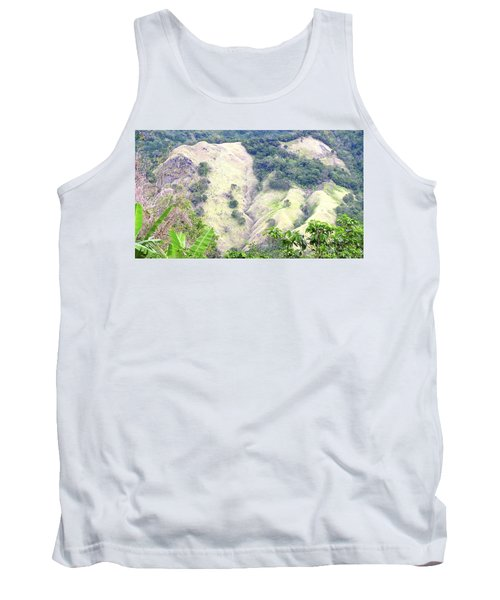 Penuelas, Puerto Rico Mountains Tank Top
