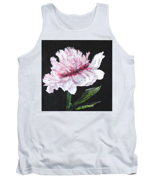Peony Bloom Tank Top by Betty-Anne McDonald