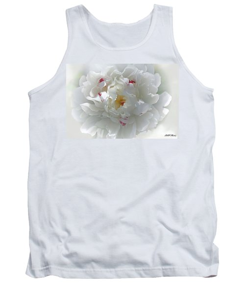 Tank Top featuring the photograph Peony by Bonnie Willis