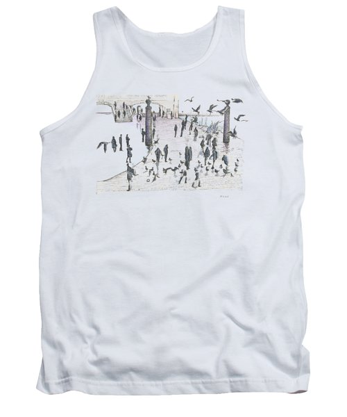 People And Birds, 19 December, 2015 Tank Top