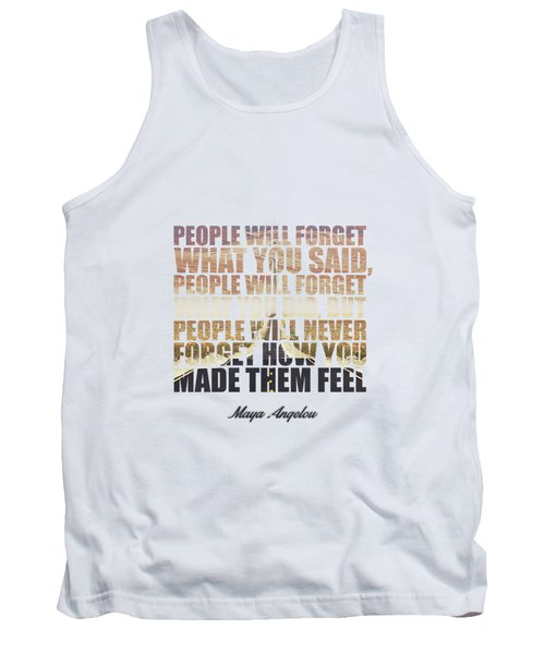 People Will Forget... Tank Top
