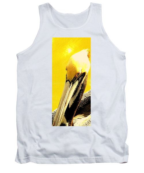 Tank Top featuring the photograph Peruvian Pelican by Antonia Citrino