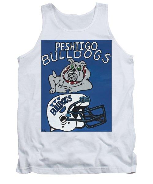 Peshtigo Bulldogs Tank Top