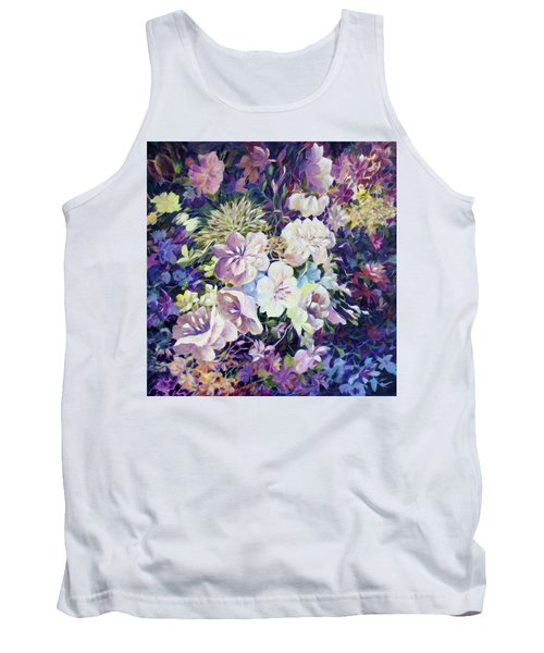Tank Top featuring the painting Petals by Joanne Smoley