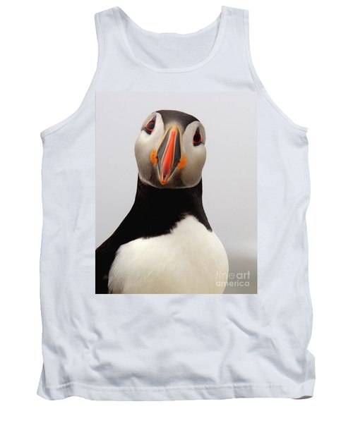 Peter The Puffin Tank Top by Jane Axman
