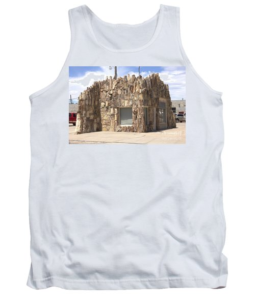 Petrified Wood Building Tank Top