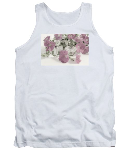 Petunias And Perfume - Soft Tank Top by Sandra Foster