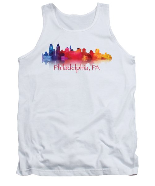 philadelphia PA Skyline TShirts and Apparal Tank Top